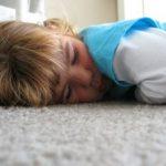Podłoga w pokoju dziecięcym