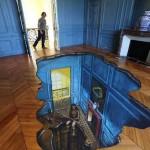 Efekt 3D na podłodze domowej